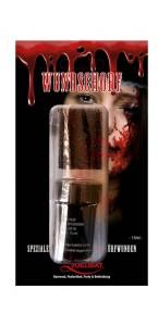 Faux sang crouteux avec éponge pour effets Halloween