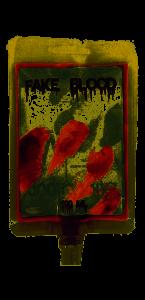 Faux sang dans poche 100 ML
