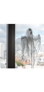 Fantôme à ventouse Halloween 30 x 40 x 22 cm