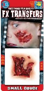 Fausse Cicatrice Petite balafre 3 D Halloween
