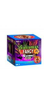 Feu d'artifice compact Bahamas Fancy sifflant 25 coups