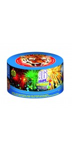Feu d'artifice compact Pearl flower 96 coups
