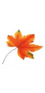 Feuille d'automne déco 35 cm