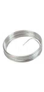 Fil aluminium argent 2 mm x 5 m