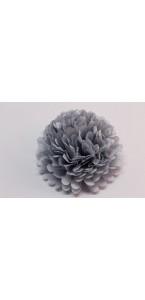 Fleur déco gris  D 45 cm