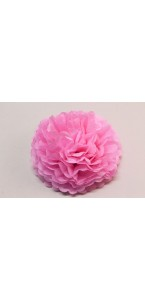 Fleur déco rose D 45 cm