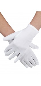 Gants blancs  coton