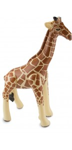 Girafe gonflable 74 x 65 cm