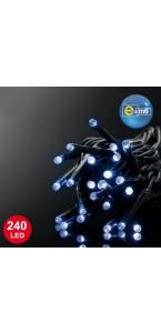 Guirlande 240 leds bleues 8 fonctions + contrôleur