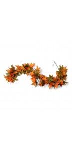 Guirlande feuille d'automne 1,80 m