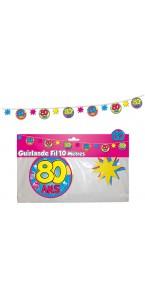 Guirlande Fil  80 ans