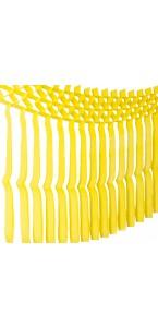 Guirlande franges jaunes 3m x 70 cm