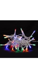 Guirlande lumineuse 100 leds multicolores pvc + cuivre pvc+cuivre 4 m