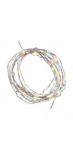 Guirlande lumineuse 80 leds blanc chaud 3 m