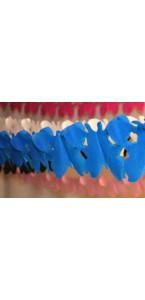 Guirlande Papillon turquoise 4 m