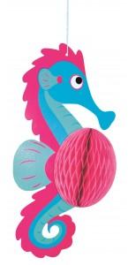 Suspension hippocampe alvéolée 27 cm