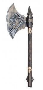 Hache Skull warrior Halloween 68 cm