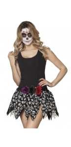 Jupe Day of the dead Halloween