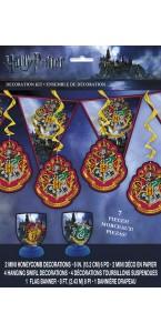 Kit de décoration Harry Potter 7 pièces