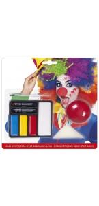 Kit de maquillage clown