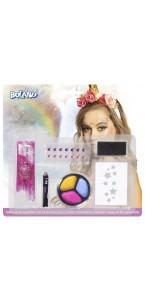 Kit de maquillage Licorne 6 pièces