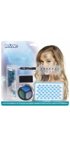Kit de maquillage Sirène 6 pièces