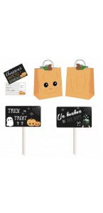 Kit spécial chasse aux bonbons sweety Halloween 3 pièces