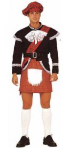 Kilt écossais avec surprise