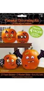 Kit accesssoires de décoration Halloween pour citrouille