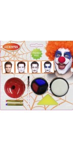 Kit de maquillage Creepy clown Halloween