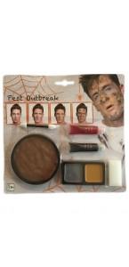 Kit de maquillage Eruption pustules  Halloween