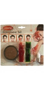 Kit de maquillage Gangrène Halloween