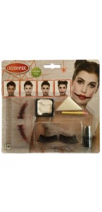 Kit de maquillage Poupée Zombie Halloween