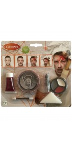 Kit de maquillage Zombie chef  Halloween