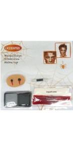 Kit maquillage morsure de vampire Halloween