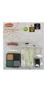 Kit maquillage phosphorescent Glow in the dark Halloween