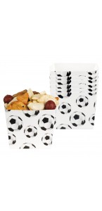 Lot de 6 Bols jetables Football 40 cl
