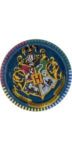 Lot de 8 assiettes Harry Potter 18 cm