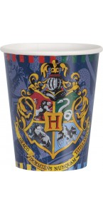 Lot de 8 gobelets Harry Potter 27 cl