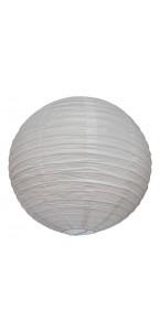 Lanterne blanche en papier D 50 cm