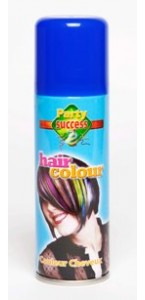 Laque cheveux bleue en spray 125 ml