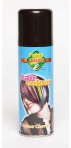 Laque cheveux noire en spray 125 ml