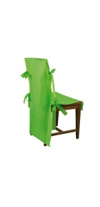 Lot de 10 housses de chaise vertes