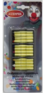 Lot de 12 Crayons gras assortis