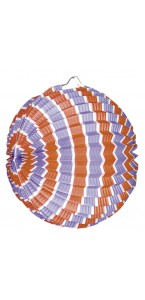 Lot de 12 lampions ballon tricolore bleu blanc rouge 22 cm