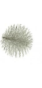 Lot de 2 Chardons argent diamètre 5 cm
