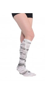Lot de 2 chaussettes hautes Momie Halloween