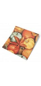 Lot de 20 serviettes automne en papier 33 x 33 cm