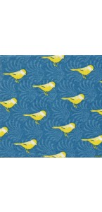 Lot de 20 serviettes intissée Birds 25 x 25 cm