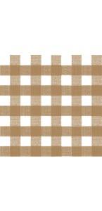 Lot de 20 serviettes intissée Bistrot beige 40 x 40 cm